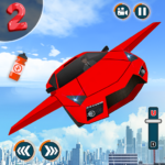 Flying Car Shooting Game: Modern Car Games 2020 APK (MOD, Unlimited Money) 1.1