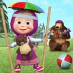 Free games: Masha and the Bear APK (MOD, Unlimited Money) 1.4.4