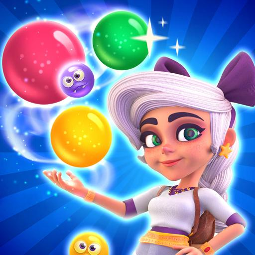 Huuuge Bubble Pop Story APK (MOD, Unlimited Money) Varies with device1.1.0