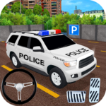 Police Car Spooky Stunt Parking: Extreme driving APK (MOD, Unlimited Money) 1.1