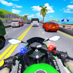 Police Moto Bike Highway Rider Traffic Racing Game APK (MOD, Unlimited Money) 69
