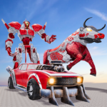 Real Robot Bull Simulator Robot Transform Games APK (MOD, Unlimited Money) 1.7