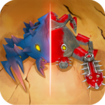Spore Monsters.io 3D Wasteland Nomads Crab Turmoil APK (MOD, Unlimited Money) 1.6
