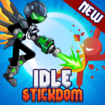 Stickdom Idle: Taptap Titan Clicker Heroes APK (MOD, Unlimited Money) v  1.1.4