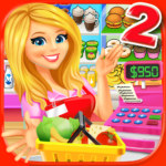 Supermarket Grocery Store Girl – Supermarket Games APK (MOD, Unlimited Money) 3.6