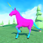 🦄 Unicorn Simulator Family Free 2-Wild Horse Game APK (MOD, Unlimited Money) 1.38