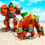 Bear Robot Car Transform: Flying Car Robot War APK (MOD, Unlimited Money) 13.1