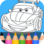 Cars Coloring Pages for Kids APK (MOD, Unlimited Money) 1.3.8