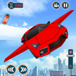 Flying Car Games 2020- Drive Robot Shooting Cars APK (MOD, Unlimited Money) 1.0