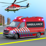 Heli Ambulance Simulator 2020: 3D Flying car games APK (MOD, Unlimited Money) 1.15