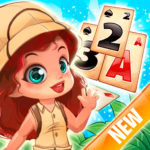 Solitaire Tripeaks – Lost Worlds Adventure APK (MOD, Unlimited Money) 3.2