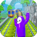 Subway Fall Run Guys APK (MOD, Unlimited Money) 1.0