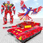 Tank Robot Game 2020 – Eagle Robot Car Games 3D APK (MOD, Unlimited Money) 1.0.8
