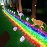 Unicorn Dash Jungle Run 3D APK (MOD, Unlimited Money) unicorn games 2.7.85