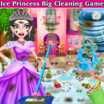 Winter Princess Big House Cleaning- Home Cleaning APK (MOD, Unlimited Money) 1.1