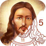 Bible Coloring – Paint by Number, Free Bible Games APK (MOD, Unlimited Money) 2.22.0