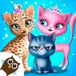 Cat Hair Salon Birthday Party – Virtual Kitty Care APK (MOD, Unlimited Money) 8.0.80007