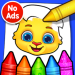 Coloring Games: Coloring Book, Painting, Glow Draw APK (MOD, Unlimited Money) 1.0.7