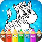 Coloring pages for children: animals APK (MOD, Unlimited Money) 1.0.6