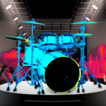 Drum Hero (rock music game, tiles style) APK (MOD, Unlimited Money) 2.4.4