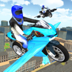 Flying Motorbike Simulator APK (MOD, Unlimited Money) 1.20