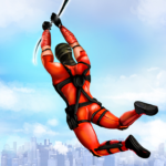 Flying Ninja Rope Hero: Light Speed Ninja Rescue APK (MOD, Unlimited Money) 3.4
