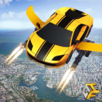 Flying Robot Car Games – Robot Shooting Games 2020 APK (MOD, Unlimited Money) 2.1
