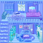 Frozen Dollhouse Design,Ice Dollhouse for girls APK (MOD, Unlimited Money) 1.0.9