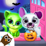 Kiki & Fifi Halloween Salon – Scary Pet Makeover APK (MOD, Unlimited Money) 5.0.11516
