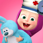 Masha and the Bear: Toy doctor APK (MOD, Unlimited Money) 1.2.3