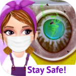Messy House Cleanup Girls Home Cleaning Activities APK (MOD, Unlimited Money) 7.0.5