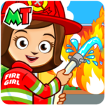 My Town : Fireman & Fire Station Story Game APK (MOD, Unlimited Money) 1.02