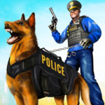 Police Dog Airport Crime Chase : Dog Games APK (MOD, Unlimited Money) 3.1