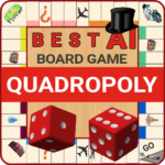 Quadropoly Best AI Board Business Trading Game APK (MOD, Unlimited Money) 1.78.76