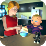 Real Mother Baby Games 3D: Virtual Family Sim 2019 APK (MOD, Unlimited Money) 1.0.6