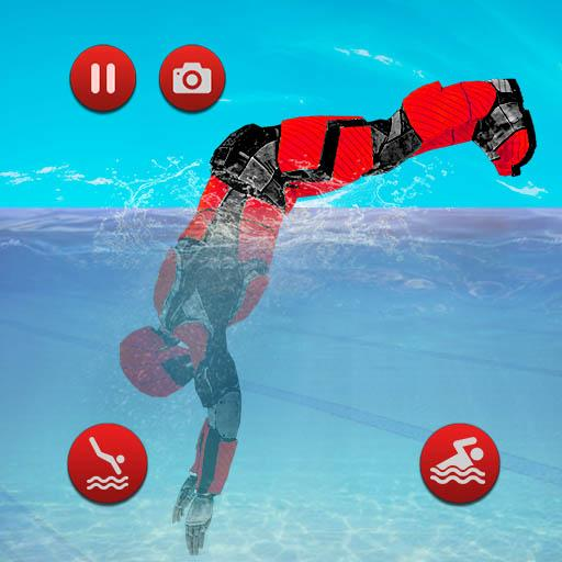 Robot Water Slide APK (MOD, Unlimited Money) 1.0.11