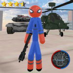 Stickman Spider Rope Hero Gangstar Crime APK (MOD, Unlimited Money) 1.0