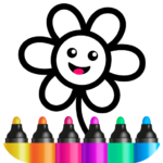 Toddler Drawing Academy🎓 Coloring Games for Kids APK (MOD, Unlimited Money)1.4.4.8
