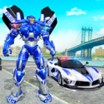 US Police Car Real Robot Transform: Robot Car Game APK (MOD, Unlimited Money) 164