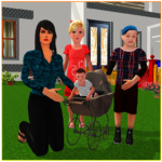 Virtual Single Mom Simulator: Family Mother Life APK (MOD, Unlimited Money) 1.15