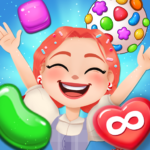 Candy Go Round – #1 Free Candy Puzzle Match 3 Game APK (MOD, Unlimited Money) 1.6.0