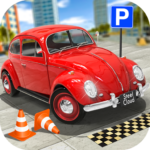 Classic Car Parking Real Driving Test APK (MOD, Unlimited Money) 1.8.0