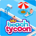 Idle Beach Tycoon : Cash Manager Simulator APK (MOD, Unlimited Money) 1.0.24