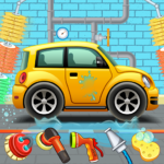 Kids Car Wash Service Auto Workshop Garage APK (MOD, Unlimited Money) 1.8