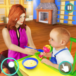 New Baby Single Mom Family Adventure APK (MOD, Unlimited Money) 1.1.1