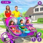 New Mother Baby Triplets Family Simulator APK (MOD, Unlimited Money) 1.1.6
