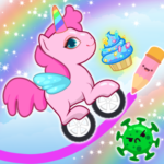 Pony Go : Drawing Race – Rainbow Paint Lines APK (MOD, Unlimited Money) 1.1.3