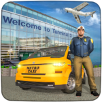 Real Taxi Airport City Driving-New car games 2020 APK (MOD, Unlimited Money) 1.8