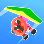 Road Glider – Incredible Flying Game APK (MOD, Unlimited Money) 1.0.27