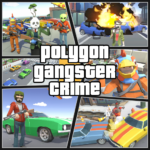 Grand City Theft War: Polygon Open World Crime APK (MOD, Unlimited Money) 2.1.4